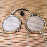 古董眼镜 老眼镜 折叠眼镜
