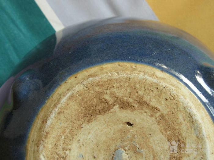 清中期霁蓝香炉