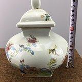 花鸟富贵瓷罐A4008