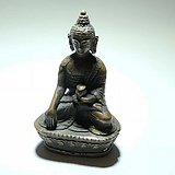 清晚期 藏传 铜制 释迦牟尼 座像 手工打造