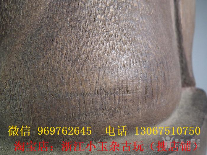 木胎鎏金财神大坐像图10