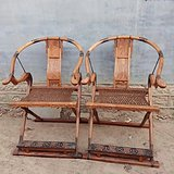 黄花梨花梨家具交椅