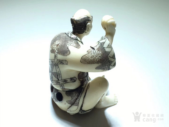 名家雕刻 珍贵 人物 把件 手工雕刻图3