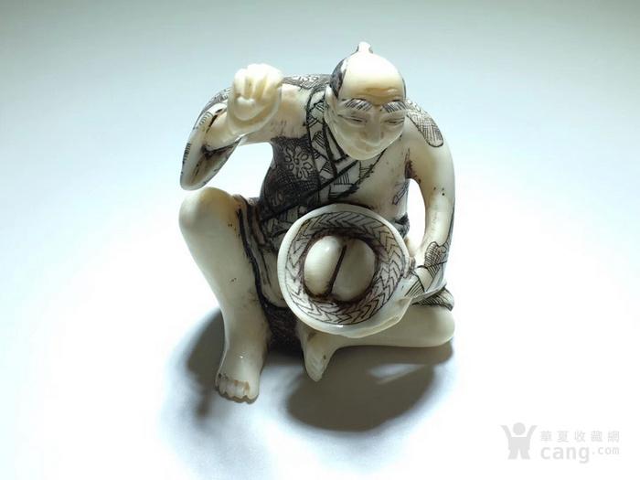 名家雕刻 珍贵 人物 把件 手工雕刻图2