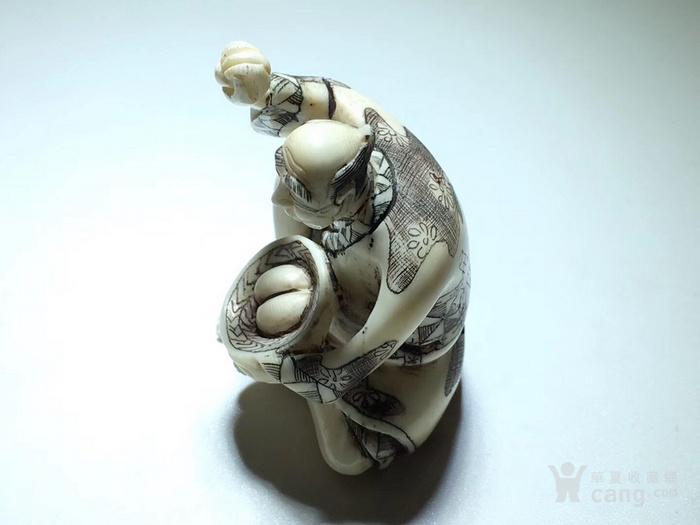 名家雕刻 珍贵 人物 把件 手工雕刻图7