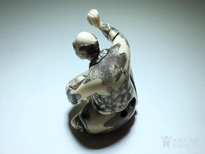 名家雕刻 珍贵 人物 把件 手工雕刻图6