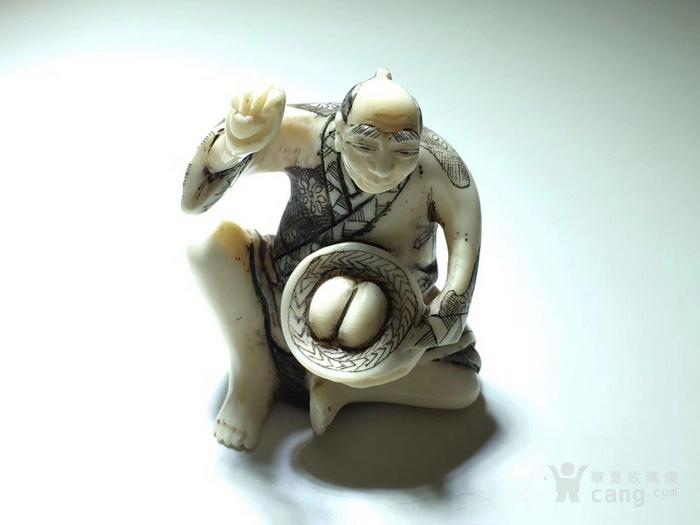 名家雕刻 珍贵 人物 把件 手工雕刻图8