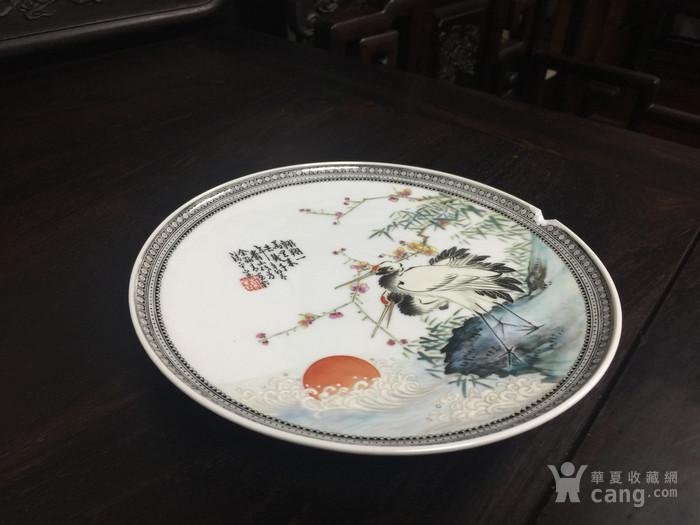 余翰青 翱翔一万里 赏盘 21.5厘米 。小磕