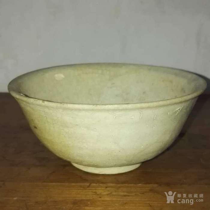 完好包浆老瓷釉碗