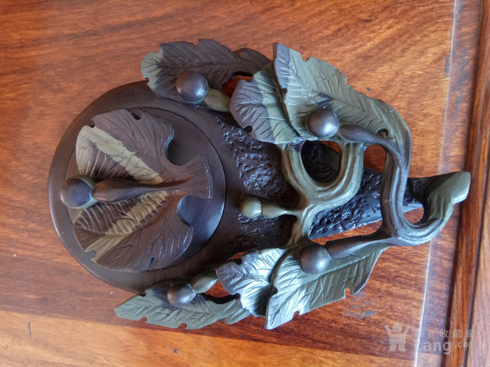 玉带石雕葫芦砚台