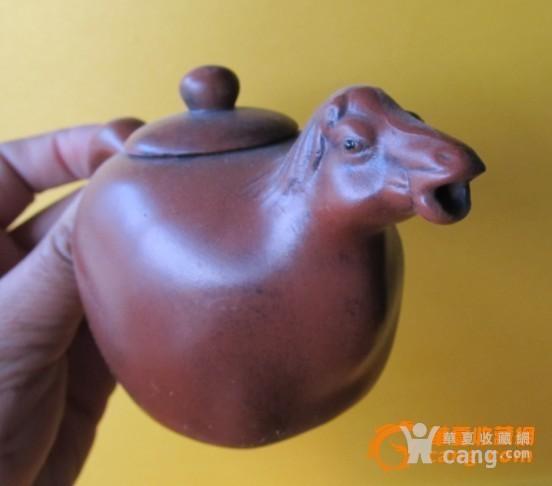 品相完整的十二生肖紫砂壶一