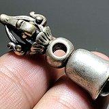 清 藏传 银制 降魔铃 手工雕刻 工艺十分不错 包浆老厚