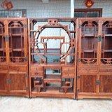 老货旧货老木器降香黄檀黄花梨书柜博古架