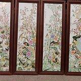 手绘老瓷板画15243300789