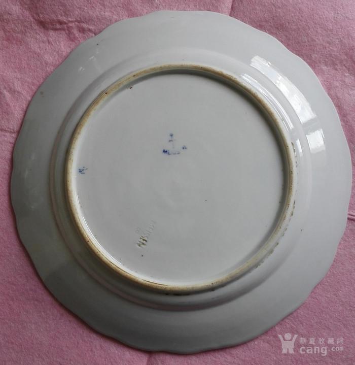 meissen 梅森 蓝洋葱瓷盘