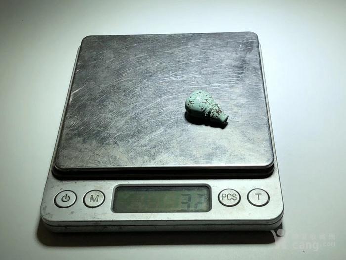 原矿 绿松石 乌兰花 一体佛头 铁线 漂亮 做工精致图6