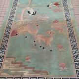 民国羊绒老地毯