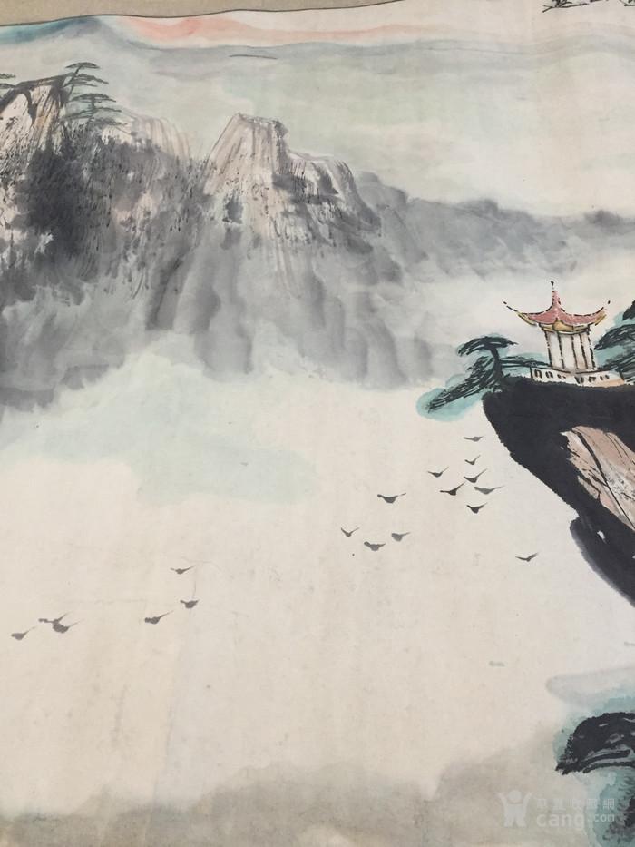 壁纸 风景 国画 旅游 瀑布 山水 桌面 700_933 竖版 竖屏 手机