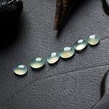 缅甸翡翠老坑冰种水润起光蛋面