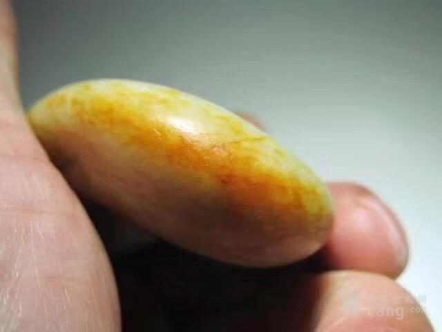 正宗 新疆 玉龙河 撒金皮 籽料 手感如膏如脂图6
