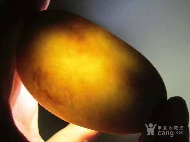 正宗 新疆 玉龙河 撒金皮 籽料 手感如膏如脂图7