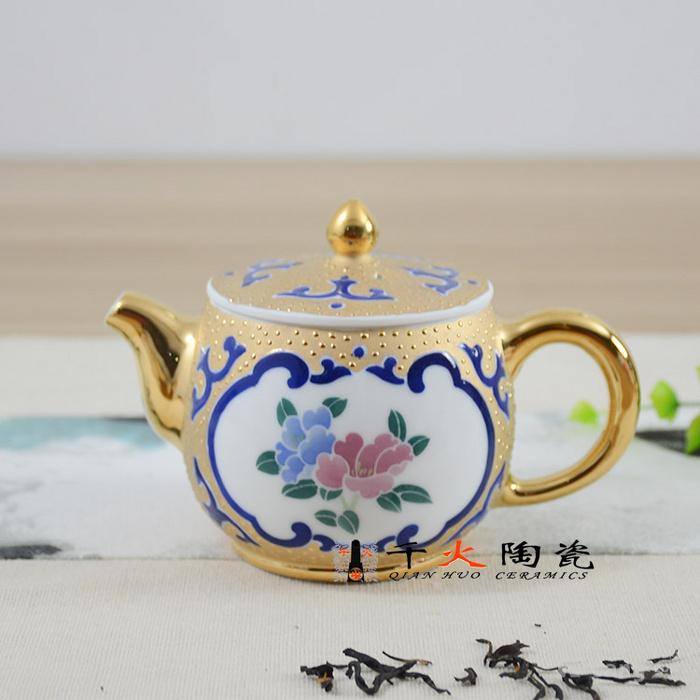 四川长嘴茶壶手绘