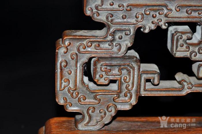 古董老物件木器海南黄花梨清代油梨百宝嵌富贵平安屏风明清家具