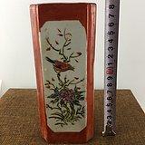 民国花鸟彩绘瓷器A3114