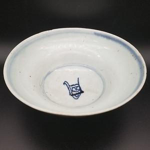 青花寿字碗