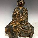 收来的老铜佛像