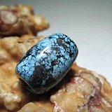 民国时期 精品 原矿高瓷 乌兰花 松石 珠 花色一流