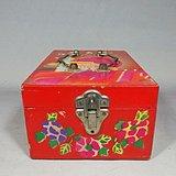文革时期东方红绘画双层首饰盒