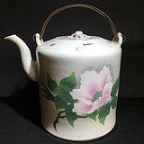 民国刷花茶壶