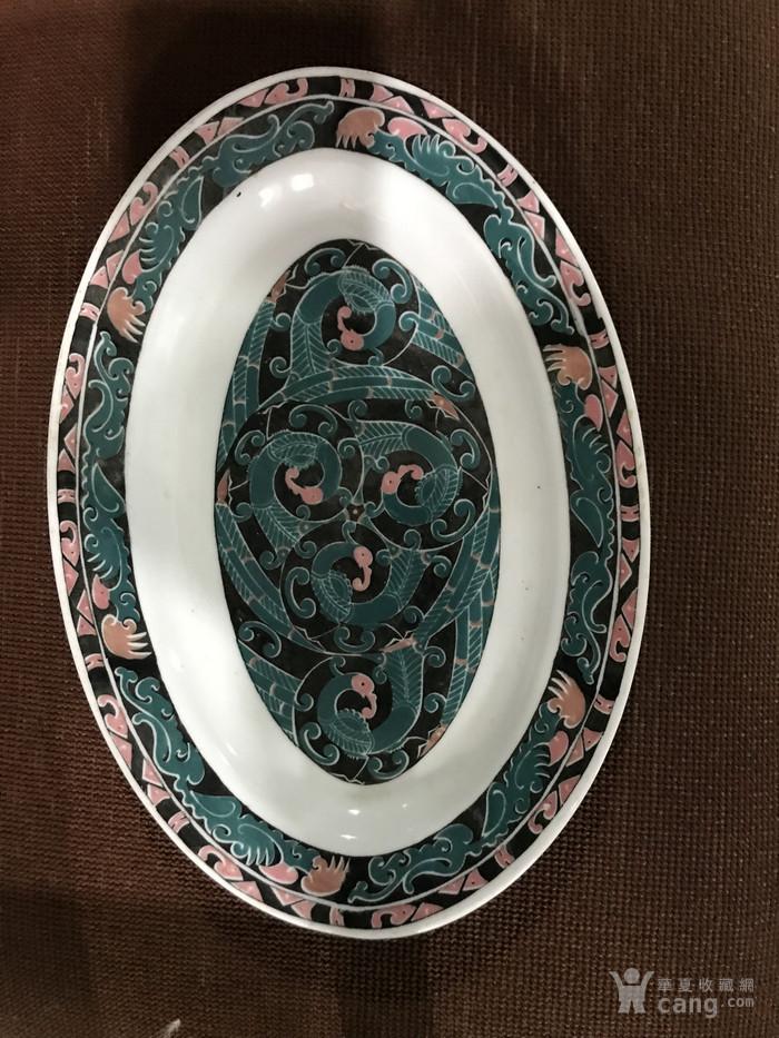 醴陵手绘盘子