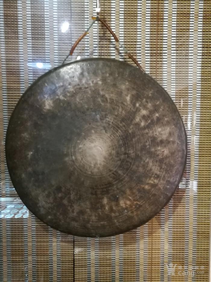 老的收藏级别的大铜锣