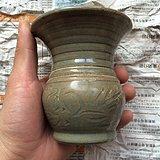 老龙泉窑刻画花瓶