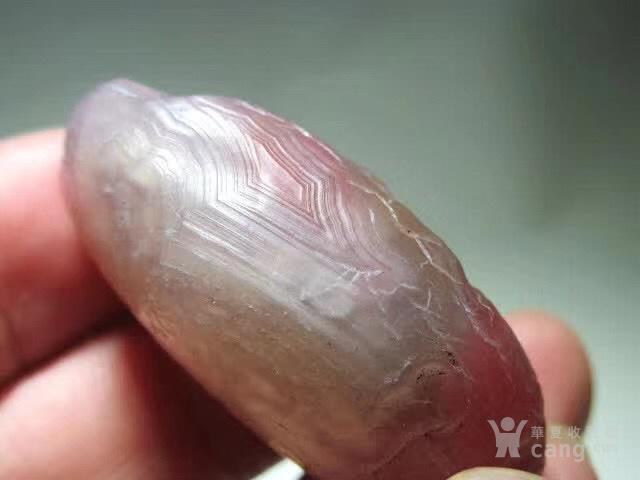 大自然杰作 亿万年的孕育 上等 戈壁 藕粉色宝石光图5