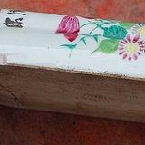 珠山花卉壁瓶