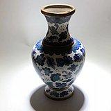 民国 铜质 掐丝珐琅表鎏金 铜瓶 手工打造 工艺精美