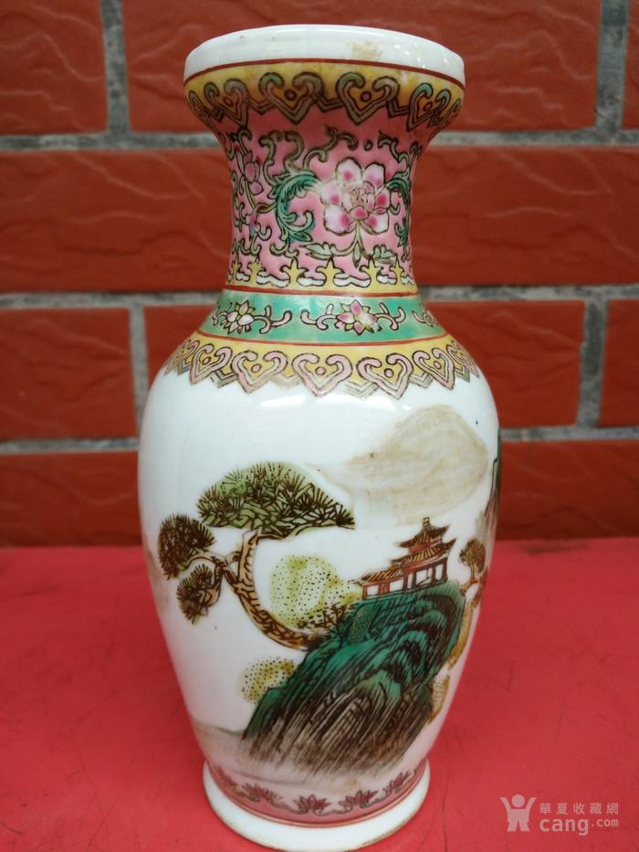 17厘米全品手绘小花瓶