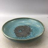 蓝釉老瓷碗A7086