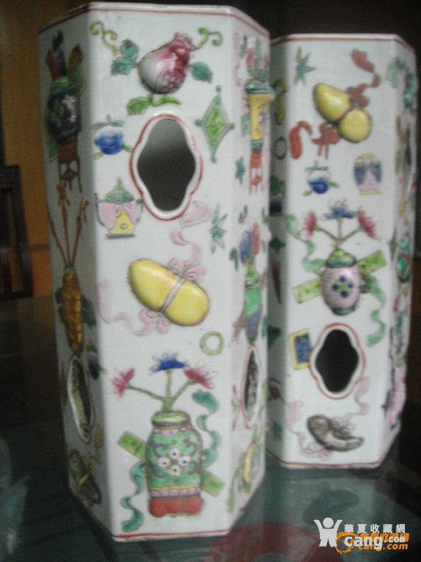 八仙过海瓷器花瓶