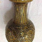 520 南宋吉州窑酱釉刻花大花瓶