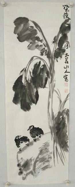 王能鹏写意国画 花鸟