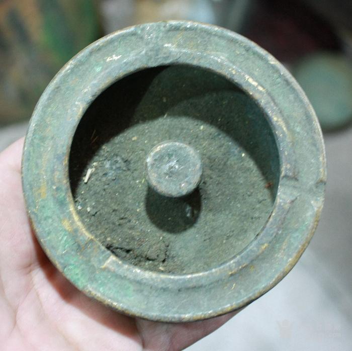 漂亮的铜烟灰缸,厚重