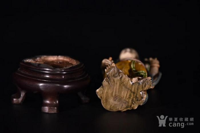 寿山石雕藏佛观音像