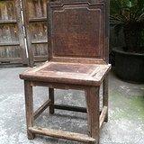 苏作清代老榉木屏风椅