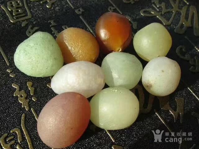 有些年头 天然 戈壁七彩 糖球玛瑙 个个规整图3