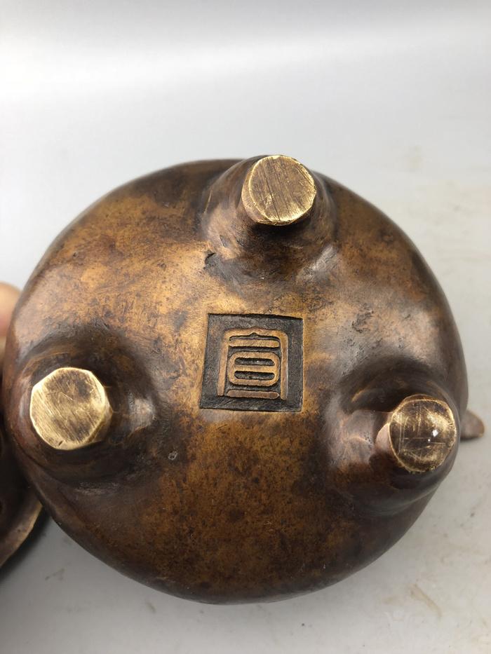 老铜熏炉C0346