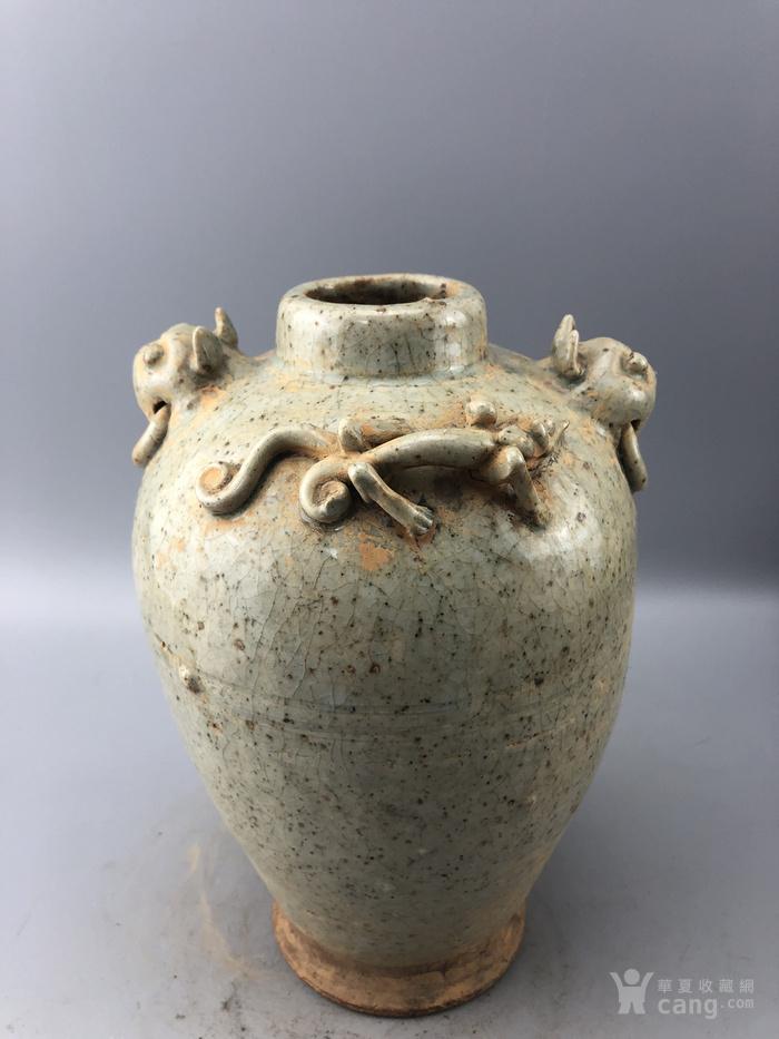 老瓷瓶C0351